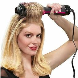 1000W Professional Hair Dryer Brush 2 In 1 Hair Straightener