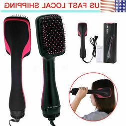 110V 2 in 1 Professional Hair Blow Dryer Hot Air Styler Curl