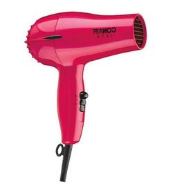 1875 watt mid size hair dryer red