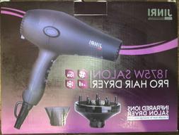 1875W JINRI Infrared Ions Salon Pro Hair Dryer JIR-108I Newe
