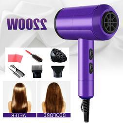 2200W Hair Dryer Blow Professional Salon Hairdryer Powerful