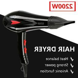 2200W Professional Hair Blow Dryer Heat Cold Speed Salon Blo
