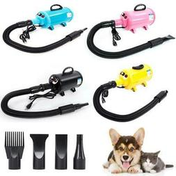 Shelandy 2800W Portable Dog Cat Pet Groomming Blow Hair Drye