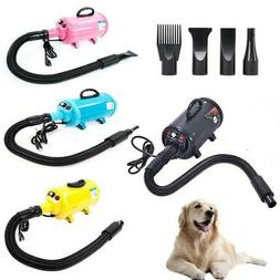 2800W Portable Dog Cat Pet Groomming Blow Hair Dryer Quick H