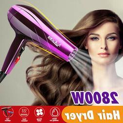 220V 2800W Pro Hair Blow Dryer Powerful Heat Speed Salon Blo