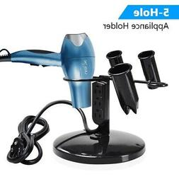2Pcs Tabletop Blow Dryer & Hair Iron Holder Salon Appliance