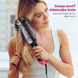 3-1 Hair Blow Dryer Brush Comb Hot Air Hair Dryer Straighten