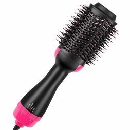 3-in-1 Hair Blow Dryer Volumizer Straightener Curler Comb In