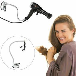 360 Degree Hands Free Blow Dryer Mount Bathroom Wall Hair Dr