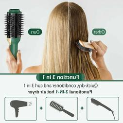 ONSON 3IN1 Hair Blow Dryer Brush Comb Hot Air Hair Straighte