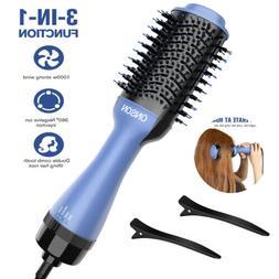 ONSON 3in1 Hair Blow Dryer Brush Comb Hot Air Hair Dryer Str