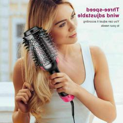 3in1 Hair Blow Dryer Brush Comb Hot Air Hair Dryer Straighte