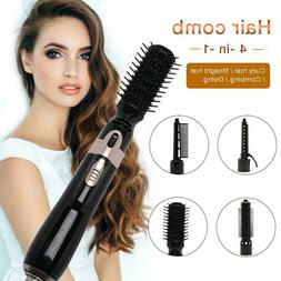 4 IN 1 Electric Hair Blow Dryer Straightener Curler Comb Sty