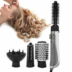 4 In 1 Hair Dryer Blow & Volumizer Brush Hot Air Comb Straig