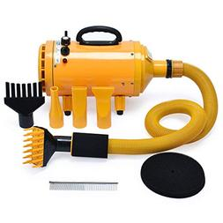 4HP Stepless Adjustable Speed and 2 Differerent Heat Pet Gro