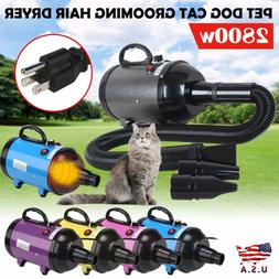 5 Color Portable Pet Grooming Hair Dryer Blow Hairdryer Blow