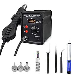 500°C Soldering Hot Air Rework Station Thermoregul LED Heat
