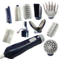 5X(Multifunctional Hair Dryer 10 in 1 Blow Dryer Professiona