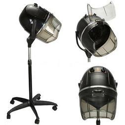 900W Rolling Beauty Salon Hair Blow Dryer Bonnet Hood Stand