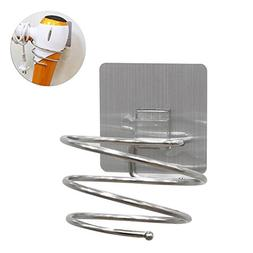BEACON PET Premium Stainless steel Hair Blow Dryer Holder Sp