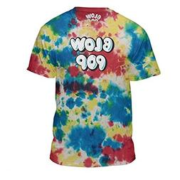 Blow Pop Multi Colored Crystal Wash 70's Candy Mens T-Shirt
