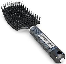 Boar Bristle Brush Best at Detangling Thick Hair Vented For