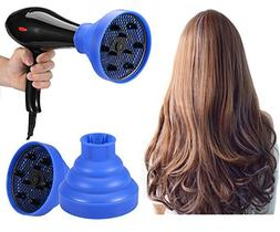 Collapsible Hair Dryer Diffuser, Foldable Hair Blow Dryer Di