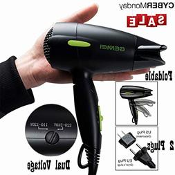 Professional Folding Blow Dryer for Travel 1300 to 1500W Neg
