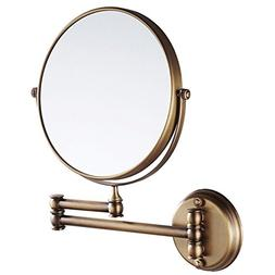 EYX Formula Magnification Mirror for Face Wash, Wall Mounted