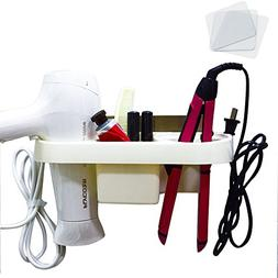 Echolife Hair Dryer Holder Adhesive, Blow Dryer & Curling ir