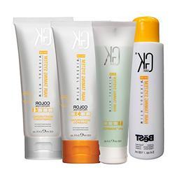 Global Keratin GK The Best Hair Straightening Treatment Full