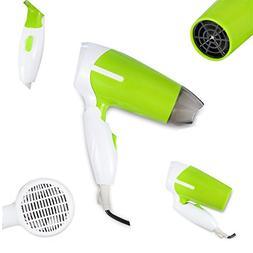 Hair Dryer Machine Electric Mini Folding Compact Travel Hair