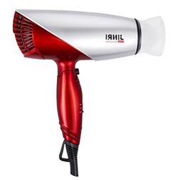 JINRI Folding Travel Hair Dryer 1875W Dual Voltage Blow Drye