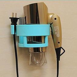 LIVDAT Hair Blow Dryer Holder Shelf Rack Stand Bathroom Wash