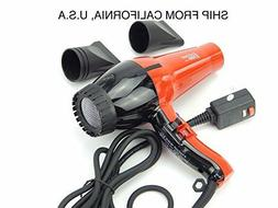 New Professional Hair Blow Dryer Nano Ionic Super Turbo 2000
