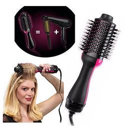 One-Step Hair Dryer & Volumizer Styler, Salon Hot Air Paddle