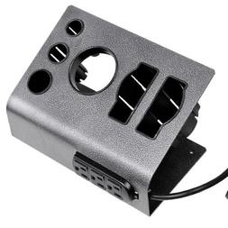 Salon Appliance Holder with Outlet 3-Plug 5.9ft Power Cord H