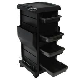 Salon Spa Tool Accessories Holder Storage Trolley Cart Packa