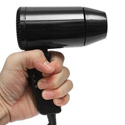 SanSiDo 12V 216W Travel Dryer Foldable Mini Blow Dryer Heat