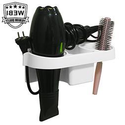 WEBI Hair Dryer Holder, Adhesive Blow Dryer Holder Hair Stra