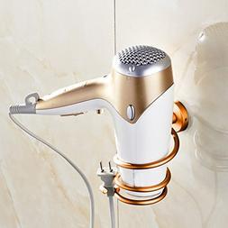 Wall Mount Hair Iron & Blow Dryer Holder Hotel Bathroom Self