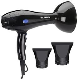 Warmlife 1875W Professional AC Motor Hair Dryer, Negative Io