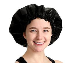 Adjustable Large Shower Cap - The Satin Dream WaterProof Sho