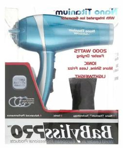 Babyliss Pro BABNT5548 2000W Titanium Nano Ionic Hair Blow D