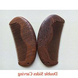 1Pcs Hot Fashion Black Fine-Tooth Comb Metal Pin Anti-Static