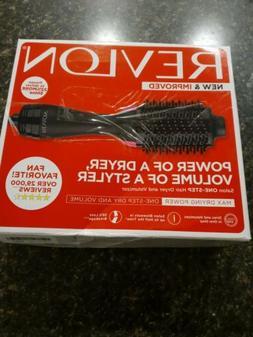 Revlon Blow Dry Brush • New & Improved Power Of A Dryer, V