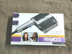 Conair Blow Dryer Brush Hair Comb 3 Attachment Ion Long Thic