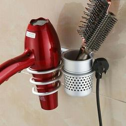 spiral blow hair dryer holder wall mount