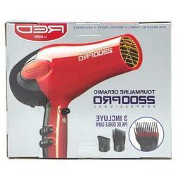 Blow Hair Dryer Tourmaline Ceramic Ionic 2200 Watt Detanglin