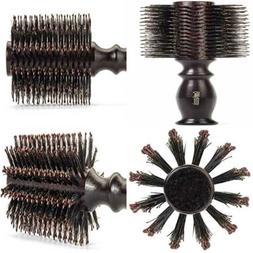 "Boar Bristle Round Styling Hair Brush 1.75"" Diameter Blow Dr"
